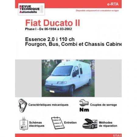 Ducato E 94-02 Revue e-RTA Numerique Fiat
