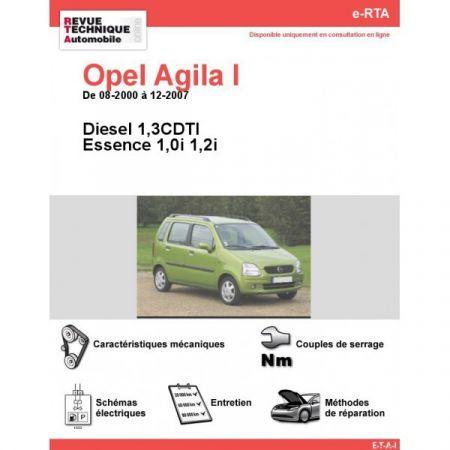 Agila 00-07 Revue e-RTA Numerique Opel