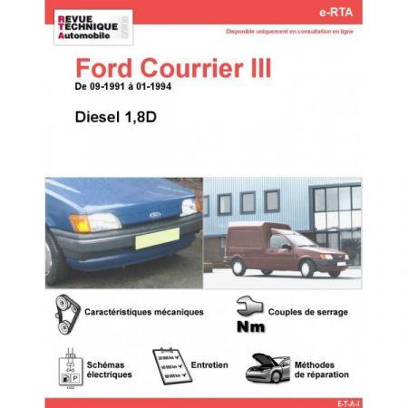 Courrier D 91-94 Revue e-RTA Numerique Ford