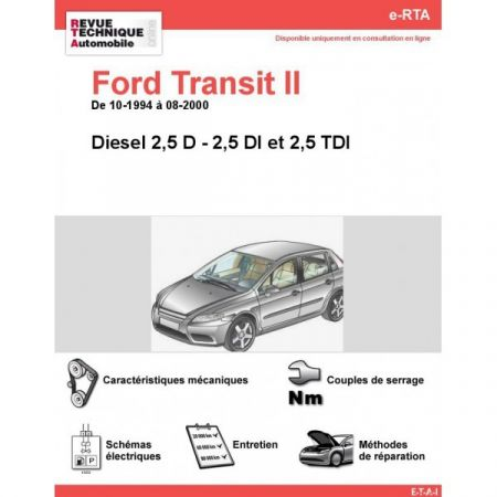 Transit D 94-00 Revue e-RTA Numerique Ford