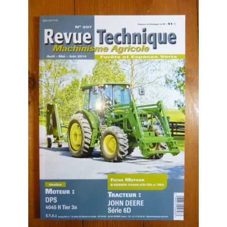 6000D Revue Technique Agricole John Deere