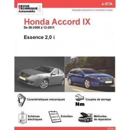 Accord E 08-11 Revue e-RTA Numerique Honda