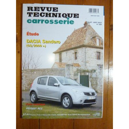 Sandero Revue Technique Carrosserie Dacia