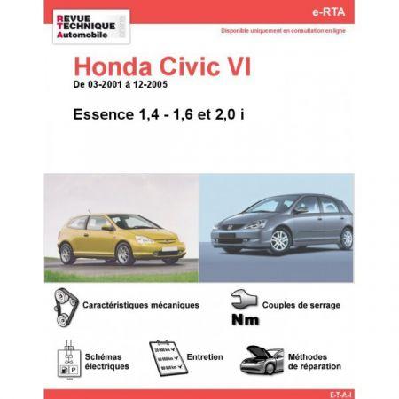 Civic E 01-05 Revue e-RTA Numerique Honda