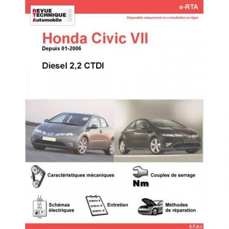 Civic D 06- Revue e-RTA Numerique Honda