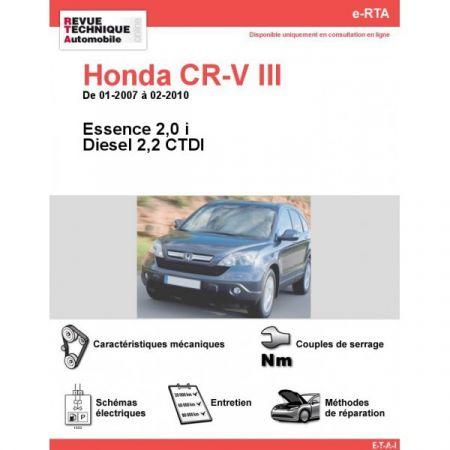 CRV 07-10 Revue e-RTA Numerique Honda