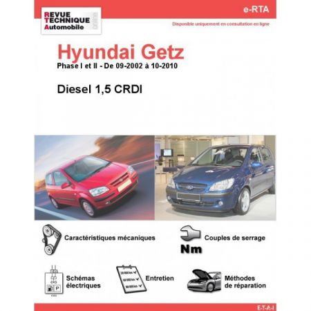 Getz D 02-10 Revue e-RTA Numerique Hyundai