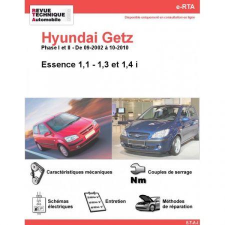 Getz E 02-10 Revue e-RTA Numerique Hyundai