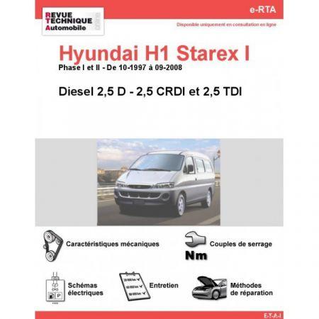 H1 Starex D 97-08 Revue e-RTA Numerique Hyundai