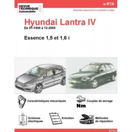 Lantra E 99-00 Revue e-RTA Numerique Hyundai