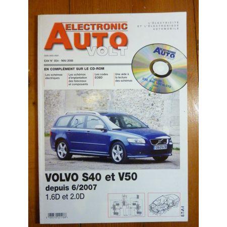 S40 V50 D Revue Technique Electronic Auto Volt Volvo