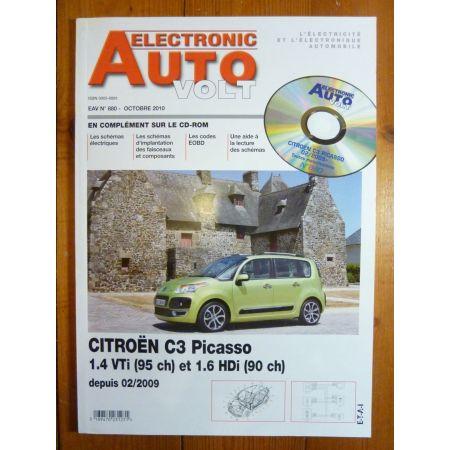 C3 Picasso Revue Technique Electronic Auto Volt Citroen
