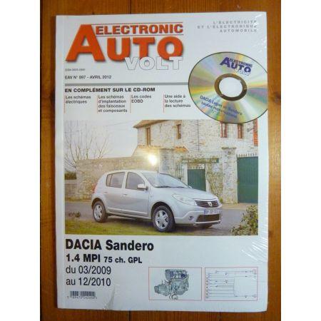 Sandero Revue Technique Electronic Auto Volt Dacia