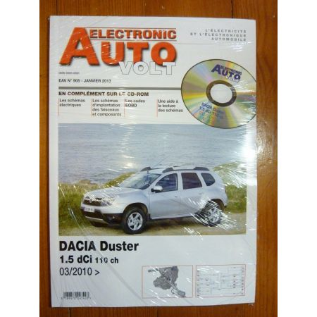 Duster D Revue Technique Electronic Auto Volt Dacia