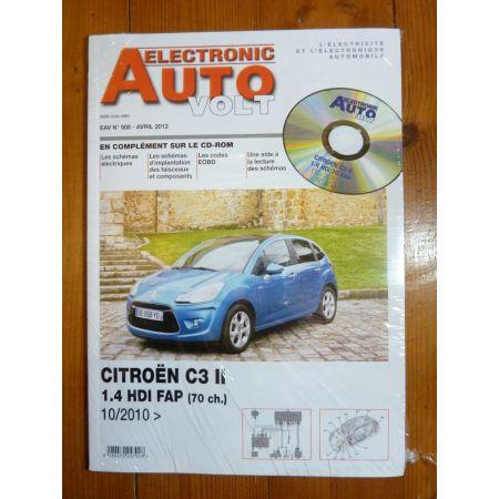 C3 D Revue Technique Electronic Auto Volt Citroen
