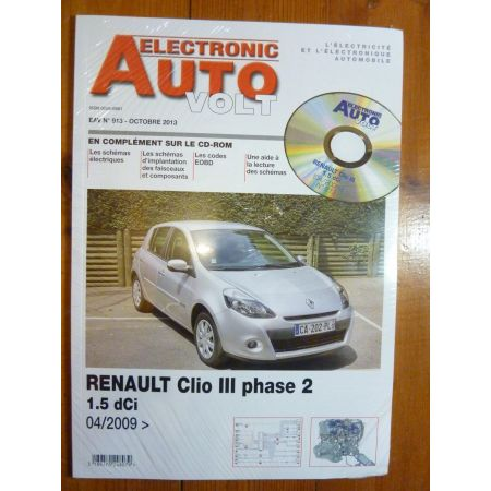 Clio III D Revue Technique Electronic Auto Volt Renault