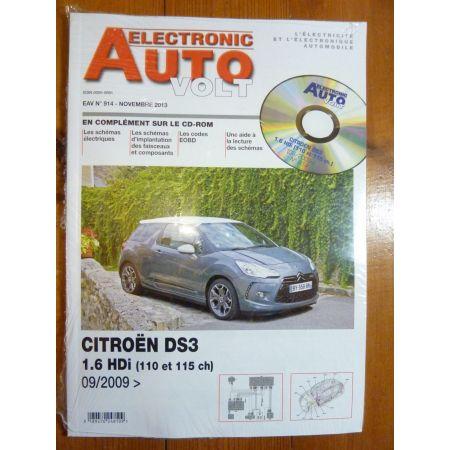 DS3 D Revue Technique Electronic Auto Volt Citroen