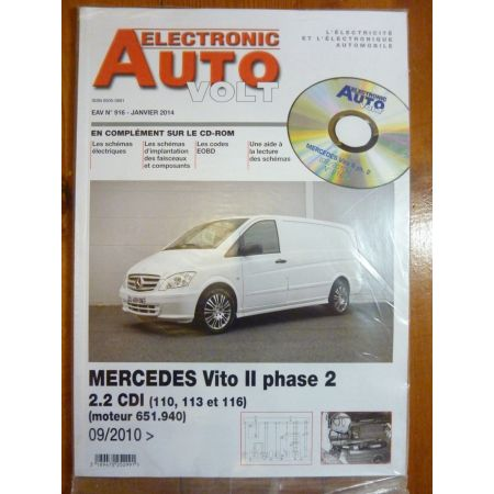 Vito II Revue Technique Electronic Auto Volt Mercedes