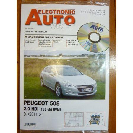508 II Revue Technique Electronic Auto Volt Peugeot