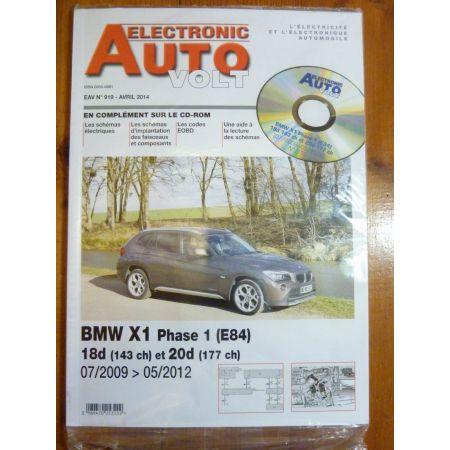 X1 E84 Revue Technique Electronic Auto Volt BMW