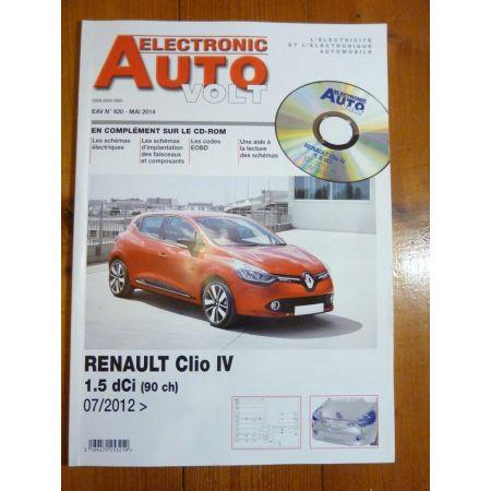 Clio IV D Revue Technique Electronic Auto Volt Renault
