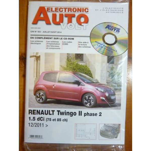 renault twingo ii phase 2 diesel 1 5 dci depuis 12 2011. Black Bedroom Furniture Sets. Home Design Ideas