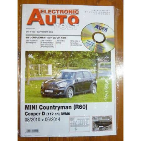 Countryman Revue Technique Electronic Auto Volt Mini