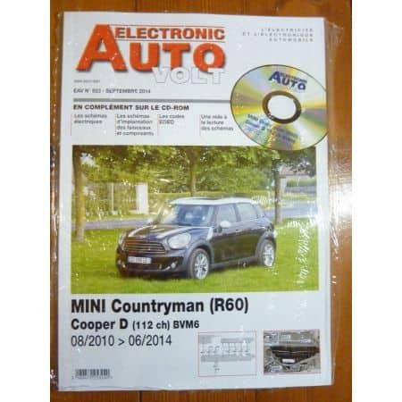 Countryman Revue Technique Electronic Auto Volt Mini