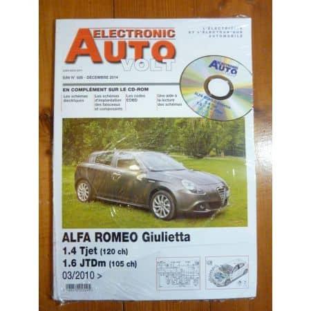 Giulietta Revue Technique Electronic Auto Volt Alfa
