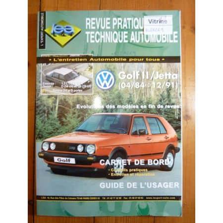 Golf Jetta 84-91 Revue Technique VW