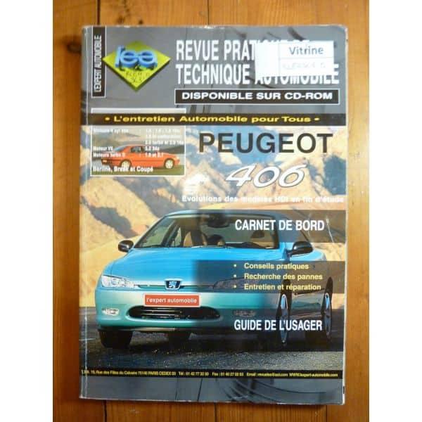 lea revue technique peugeot 406 essence 1 6 1 8 1 8 16v 2 0 2 0 16s v6 3 0 24s diesel 1. Black Bedroom Furniture Sets. Home Design Ideas
