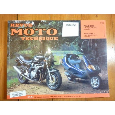 Hexagon 600 Bandit Revue Technique moto Suzuki Piaggio