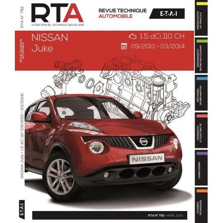 Juke 10-14 Revue Technique Nissan