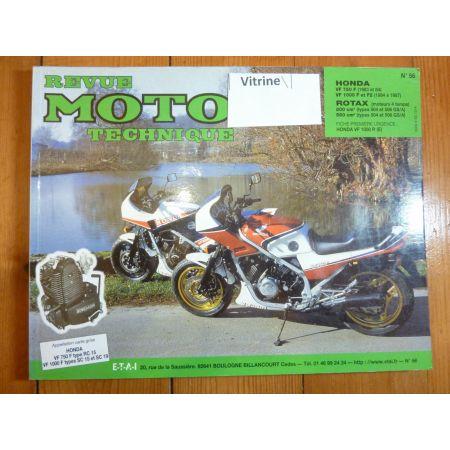 VF750F VF1000F Revue Technique moto Honda rotax