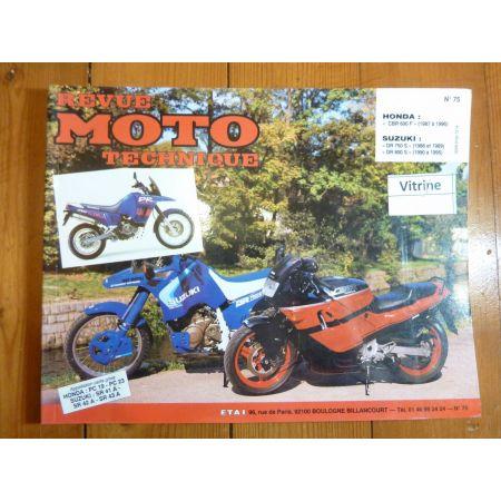 CBR600F DR750 800 Revue Technique moto Honda Suzuki