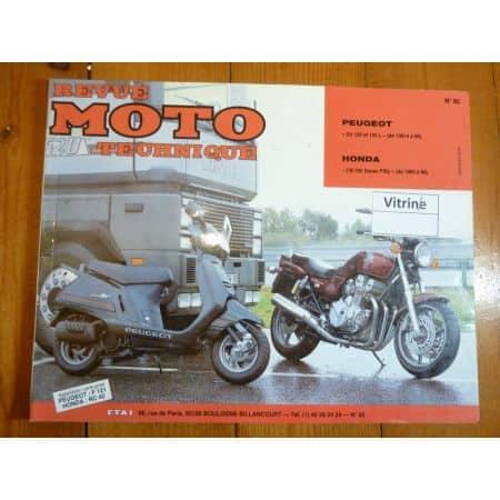 CB750 SV125 Revue Technique moto Honda Peugeot