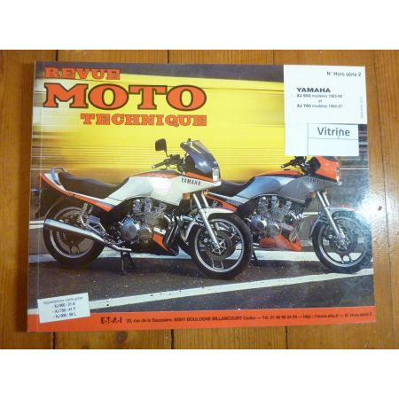 revues techniques des motos yamaha 4 ma revue. Black Bedroom Furniture Sets. Home Design Ideas