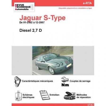 S-TYPE D 02-07 Revue e-RTA Numerique Jaguar