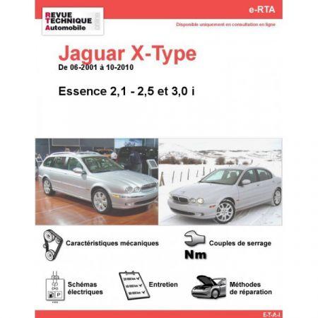 X-TYPE E 01-10 Revue e-RTA Numerique Jaguar