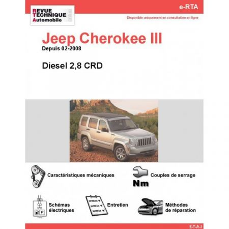 Cherokee III Die 08- Revue e-RTA Numerique Jeep