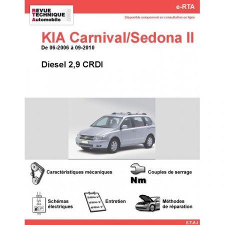 Carnival Sedona 06-10 Revue e-RTA Numerique Kia