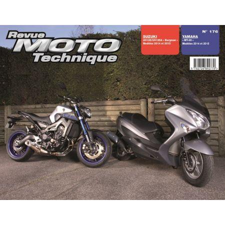 Burgman MT09 Revue Technique moto Yamaha Suzuki