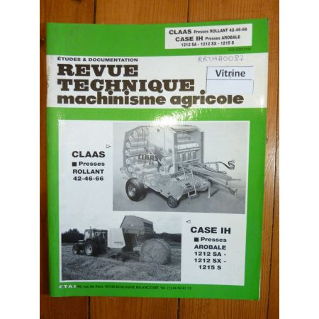 Rollant AroBale Revue Technique Agricole IH