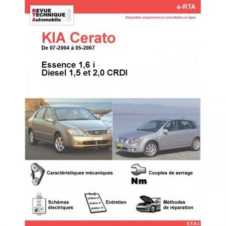 Cerato 04-07 Revue e-RTA Numerique Kia
