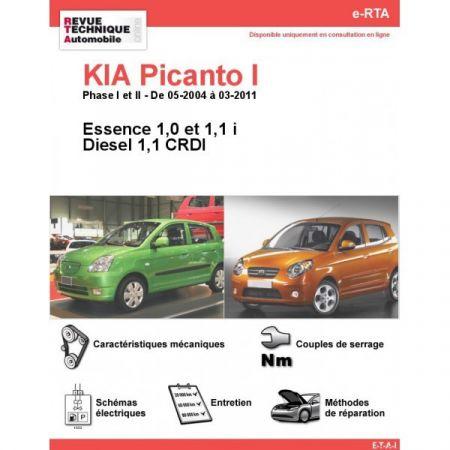 Picanto I 04-11 Revue e-RTA Numerique Kia