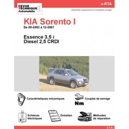 Sorento I 02-07 Revue e-RTA Numerique Kia
