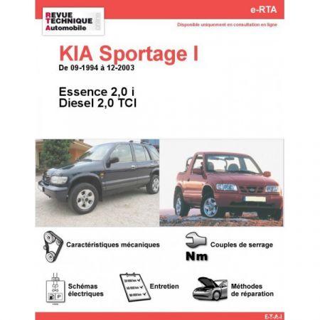 Sportage I 94-03 Revue e-RTA Numerique Kia