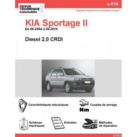 Sportage II D 04-10 Revue e-RTA Numerique Kia