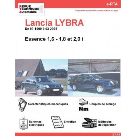 Lybra ess 99-05 Revue e-RTA Numerique Lancia