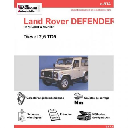 Defender D 01-02 Revue e-RTA Numerique Land-Rover
